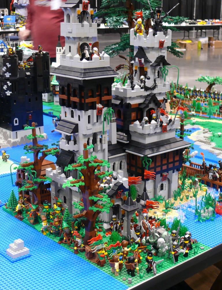 Big LEGO castle
