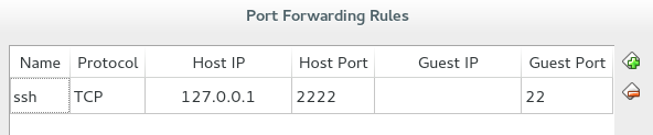 Port forwarding setup for test purposes